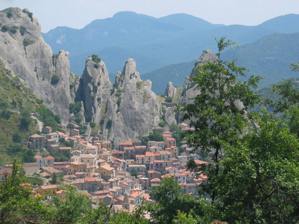Castelmezzano, Dolomiti Lucane © Foto Anna Bruno